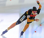 Subject: Denise Roth; Tags: Athlet, Athlete, Sportler, Wettkämpfer, Sportsman, Damen, Ladies, Frau, Mesdames, Female, Women, Denise Roth, Eisschnelllauf, Speed skating, Schaatsen, GER, Germany, Deutschland, Sport; PhotoID: 2013-12-07-0055