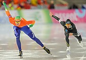 Subject: Keichiro Nagashima, Thomas Krol; Tags: Athlet, Athlete, Sportler, Wettkämpfer, Sportsman, Eisschnelllauf, Speed skating, Schaatsen, Herren, Men, Gentlemen, Mann, Männer, Gents, Sirs, Mister, JPN, Japan, Nippon, Keiichiro Nagashima, NED, Netherlands, Niederlande, Holland, Dutch, Sport, Thomas Krol; PhotoID: 2013-12-07-0079
