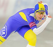 Subject: Johanna Östlund; Tags: Athlet, Athlete, Sportler, Wettkämpfer, Sportsman, Damen, Ladies, Frau, Mesdames, Female, Women, Eisschnelllauf, Speed skating, Schaatsen, Johanna Ostlund, SWE, Sweden, Schweden, Sport; PhotoID: 2013-12-07-0272
