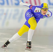 Subject: Johanna Östlund; Tags: Athlet, Athlete, Sportler, Wettkämpfer, Sportsman, Damen, Ladies, Frau, Mesdames, Female, Women, Eisschnelllauf, Speed skating, Schaatsen, Johanna Ostlund, SWE, Sweden, Schweden, Sport; PhotoID: 2013-12-07-0275