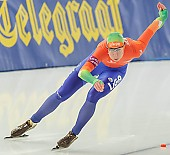 Subject: Margot Boer; Tags: Athlet, Athlete, Sportler, Wettkämpfer, Sportsman, Damen, Ladies, Frau, Mesdames, Female, Women, Eisschnelllauf, Speed skating, Schaatsen, Margot Boer, NED, Netherlands, Niederlande, Holland, Dutch, Sport; PhotoID: 2013-12-07-0432