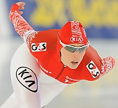 Subject: Yekaterina Lobysheva; Tags: Athlet, Athlete, Sportler, Wettkämpfer, Sportsman, Damen, Ladies, Frau, Mesdames, Female, Women, Eisschnelllauf, Speed skating, Schaatsen, Jekaterina Lobysjeva, RUS, Russian Federation, Russische Föderation, Russia, Sport; PhotoID: 2013-12-07-0764