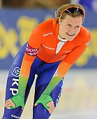 Subject: Lotte van Beek; Tags: Athlet, Athlete, Sportler, Wettkämpfer, Sportsman, Damen, Ladies, Frau, Mesdames, Female, Women, Eisschnelllauf, Speed skating, Schaatsen, Lotte van Beek, NED, Netherlands, Niederlande, Holland, Dutch, Sport; PhotoID: 2013-12-07-0840