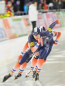 Subject: Alexis Contin, Benjamin Macé, Ewen Fernandez; Tags: Detail, Benjamin Macé, Athlet, Athlete, Sportler, Wettkämpfer, Sportsman, Alexis Contin, Eisschnelllauf, Speed skating, Schaatsen, Ewen Fernandez, FRA, France, Frankreich, Herren, Men, Gentlemen, Mann, Männer, Gents, Sirs, Mister, Shorttrack, Short Track, Sport, Team, Team Pursuit, Mannschaftslauf, Verfolgungsrennen, Jagdrennen, Mannschaftsverfolgung, Teamverfolgung; PhotoID: 2013-12-07-1004