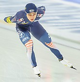 Subject: Hyeong-Joon Joo; Tags: Athlet, Athlete, Sportler, Wettkämpfer, Sportsman, Eisschnelllauf, Speed skating, Schaatsen, Herren, Men, Gentlemen, Mann, Männer, Gents, Sirs, Mister, Hyeong-Joon Joo, KOR, South Korea, Südkorea, Sport; PhotoID: 2013-12-08-0203