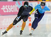 Subject: Dmitry Babenko, Marco Weber; Tags: Athlet, Athlete, Sportler, Wettkämpfer, Sportsman, Dmitrij Babenko, Eisschnelllauf, Speed skating, Schaatsen, GER, Germany, Deutschland, Herren, Men, Gentlemen, Mann, Männer, Gents, Sirs, Mister, KAZ, Kazakhstan, Kasachstan, Marco Weber, Sport; PhotoID: 2013-12-08-0251