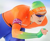 Subject: Lotte van Beek; Tags: Athlet, Athlete, Sportler, Wettkämpfer, Sportsman, Damen, Ladies, Frau, Mesdames, Female, Women, Eisschnelllauf, Speed skating, Schaatsen, Lotte van Beek, NED, Netherlands, Niederlande, Holland, Dutch, Sport; PhotoID: 2013-12-08-0474