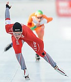 Subject: Martine Ripsrud; Tags: Athlet, Athlete, Sportler, Wettkämpfer, Sportsman, Damen, Ladies, Frau, Mesdames, Female, Women, Eisschnelllauf, Speed skating, Schaatsen, Martine Ripsrud, NOR, Norway, Norwegen, Sport; PhotoID: 2014-01-25-0259