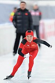 Subject: Mei Han; Tags: Athlet, Athlete, Sportler, Wettkämpfer, Sportsman, CHN, China, Volksrepublik China, Damen, Ladies, Frau, Mesdames, Female, Women, Eisschnelllauf, Speed skating, Schaatsen, Mei Han, Sport; PhotoID: 2014-01-25-0280