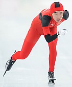 Subject: Mei Han; Tags: Athlet, Athlete, Sportler, Wettkämpfer, Sportsman, CHN, China, Volksrepublik China, Damen, Ladies, Frau, Mesdames, Female, Women, Eisschnelllauf, Speed skating, Schaatsen, Mei Han, Sport; PhotoID: 2014-01-25-0285