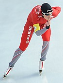 Subject: Camilla Lund; Tags: Athlet, Athlete, Sportler, Wettkämpfer, Sportsman, Camilla Lund, Damen, Ladies, Frau, Mesdames, Female, Women, Eisschnelllauf, Speed skating, Schaatsen, NOR, Norway, Norwegen, Sport; PhotoID: 2014-01-25-0785
