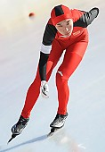 Subject: Mei Han; Tags: Athlet, Athlete, Sportler, Wettkämpfer, Sportsman, CHN, China, Volksrepublik China, Damen, Ladies, Frau, Mesdames, Female, Women, Eisschnelllauf, Speed skating, Schaatsen, Mei Han, Sport; PhotoID: 2014-01-25-0863