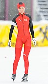 Subject: Mei Han; Tags: Athlet, Athlete, Sportler, Wettkämpfer, Sportsman, CHN, China, Volksrepublik China, Damen, Ladies, Frau, Mesdames, Female, Women, Eisschnelllauf, Speed skating, Schaatsen, Mei Han, Sport; PhotoID: 2014-01-26-0156