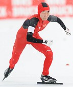 Subject: Mei Han; Tags: Athlet, Athlete, Sportler, Wettkämpfer, Sportsman, CHN, China, Volksrepublik China, Damen, Ladies, Frau, Mesdames, Female, Women, Eisschnelllauf, Speed skating, Schaatsen, Mei Han, Sport; PhotoID: 2014-01-26-0158
