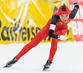 Subject: Mei Han; Tags: Athlet, Athlete, Sportler, Wettkämpfer, Sportsman, CHN, China, Volksrepublik China, Damen, Ladies, Frau, Mesdames, Female, Women, Eisschnelllauf, Speed skating, Schaatsen, Mei Han, Sport; PhotoID: 2014-01-26-0161