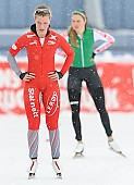 Subject: Martine Ripsrud; Tags: Athlet, Athlete, Sportler, Wettkämpfer, Sportsman, Damen, Ladies, Frau, Mesdames, Female, Women, Eisschnelllauf, Speed skating, Schaatsen, Martine Ripsrud, NOR, Norway, Norwegen, Sport; PhotoID: 2014-01-26-0185