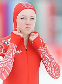 Subject: Jelena Jeranina; Tags: Athlet, Athlete, Sportler, Wettkämpfer, Sportsman, Damen, Ladies, Frau, Mesdames, Female, Women, Eisschnelllauf, Speed skating, Schaatsen, Jelena Jeranina, RUS, Russian Federation, Russische Föderation, Russia, Sport; PhotoID: 2014-01-26-0617