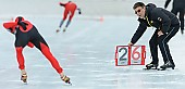 Subject: Peter Wild; Tags: Eishockey, Icehockey, Eisschnelllauf, Speed skating, Schaatsen, GER, Germany, Deutschland, Mannschaft, Peter Wild, Rittensport, Sport, Trainer, Coach, Betreuer; PhotoID: 2014-01-26-0770