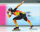 Subject: Denise Roth; Tags: Athlet, Athlete, Sportler, Wettkämpfer, Sportsman, Damen, Ladies, Frau, Mesdames, Female, Women, Denise Roth, Eisschnelllauf, Speed skating, Schaatsen, GER, Germany, Deutschland, Sport; PhotoID: 2014-03-07-0313
