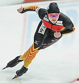 Subject: Denise Roth; Tags: Athlet, Athlete, Sportler, Wettkämpfer, Sportsman, Damen, Ladies, Frau, Mesdames, Female, Women, Denise Roth, Eisschnelllauf, Speed skating, Schaatsen, GER, Germany, Deutschland, Sport; PhotoID: 2014-03-07-0314