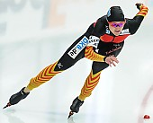 Subject: Denise Roth; Tags: Athlet, Athlete, Sportler, Wettkämpfer, Sportsman, Damen, Ladies, Frau, Mesdames, Female, Women, Denise Roth, Eisschnelllauf, Speed skating, Schaatsen, GER, Germany, Deutschland, Sport; PhotoID: 2014-03-07-0315
