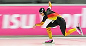 Subject: Jennifer Plate; Tags: Athlet, Athlete, Sportler, Wettkämpfer, Sportsman, Damen, Ladies, Frau, Mesdames, Female, Women, Eisschnelllauf, Speed skating, Schaatsen, GER, Germany, Deutschland, Jennifer Plate, Sport; PhotoID: 2014-03-07-0321