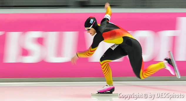 Jennifer Plate; Tags: Athlet, Athlete, Sportler, Wettkämpfer, Sportsman, Damen, Ladies, Frau, Mesdames, Female, Women, Eisschnelllauf, Speed skating, Schaatsen, GER, Germany, Deutschland, Jennifer Plate, Sport; PhotoID: 2014-03-07-0321