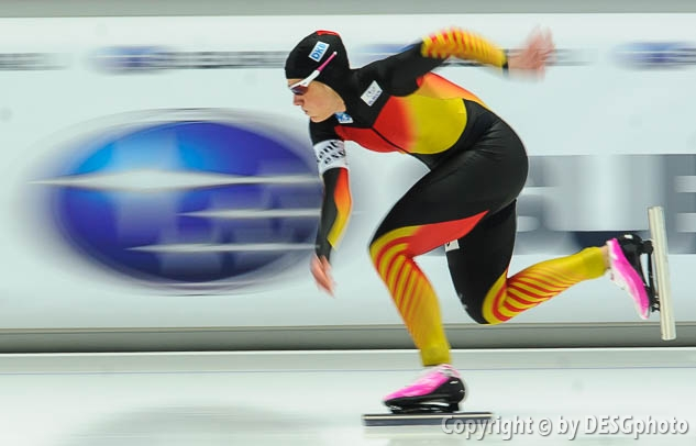 Jennifer Plate; Tags: Athlet, Athlete, Sportler, Wettkämpfer, Sportsman, Damen, Ladies, Frau, Mesdames, Female, Women, Eisschnelllauf, Speed skating, Schaatsen, GER, Germany, Deutschland, Jennifer Plate, Sport; PhotoID: 2014-03-07-0323