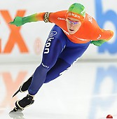 Subject: Ireen Wüst; Tags: Athlet, Athlete, Sportler, Wettkämpfer, Sportsman, Damen, Ladies, Frau, Mesdames, Female, Women, Eisschnelllauf, Speed skating, Schaatsen, Ireen Wüst, NED, Netherlands, Niederlande, Holland, Dutch, Sport; PhotoID: 2014-03-07-0695