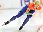 Subject: Ireen Wüst; Tags: Athlet, Athlete, Sportler, Wettkämpfer, Sportsman, Damen, Ladies, Frau, Mesdames, Female, Women, Eisschnelllauf, Speed skating, Schaatsen, Ireen Wüst, NED, Netherlands, Niederlande, Holland, Dutch, Sport; PhotoID: 2014-03-07-0696