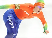 Subject: Ireen Wüst; Tags: Athlet, Athlete, Sportler, Wettkämpfer, Sportsman, Damen, Ladies, Frau, Mesdames, Female, Women, Eisschnelllauf, Speed skating, Schaatsen, Ireen Wüst, NED, Netherlands, Niederlande, Holland, Dutch, Sport; PhotoID: 2014-03-07-0697