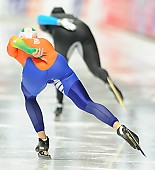 Subject: Ireen Wüst; Tags: Athlet, Athlete, Sportler, Wettkämpfer, Sportsman, Damen, Ladies, Frau, Mesdames, Female, Women, Eisschnelllauf, Speed skating, Schaatsen, Ireen Wüst, NED, Netherlands, Niederlande, Holland, Dutch, Sport; PhotoID: 2014-03-07-0698