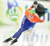 Subject: Ireen Wüst; Tags: Athlet, Athlete, Sportler, Wettkämpfer, Sportsman, Damen, Ladies, Frau, Mesdames, Female, Women, Eisschnelllauf, Speed skating, Schaatsen, Ireen Wüst, NED, Netherlands, Niederlande, Holland, Dutch, Sport; PhotoID: 2014-03-07-0700