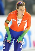 Subject: Ireen Wüst; Tags: Athlet, Athlete, Sportler, Wettkämpfer, Sportsman, Damen, Ladies, Frau, Mesdames, Female, Women, Eisschnelllauf, Speed skating, Schaatsen, Ireen Wüst, NED, Netherlands, Niederlande, Holland, Dutch, Sport; PhotoID: 2014-03-07-0703