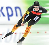 Subject: Jennifer Bay; Tags: Athlet, Athlete, Sportler, Wettkämpfer, Sportsman, Damen, Ladies, Frau, Mesdames, Female, Women, Eisschnelllauf, Speed skating, Schaatsen, GER, Germany, Deutschland, Jennifer Bay, Sport; PhotoID: 2014-03-08-0125