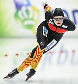 Subject: Jennifer Bay; Tags: Athlet, Athlete, Sportler, Wettkämpfer, Sportsman, Damen, Ladies, Frau, Mesdames, Female, Women, Eisschnelllauf, Speed skating, Schaatsen, GER, Germany, Deutschland, Jennifer Bay, Sport; PhotoID: 2014-03-08-0126