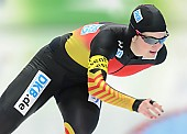Subject: Jennifer Bay; Tags: Athlet, Athlete, Sportler, Wettkämpfer, Sportsman, Damen, Ladies, Frau, Mesdames, Female, Women, Eisschnelllauf, Speed skating, Schaatsen, GER, Germany, Deutschland, Jennifer Bay, Sport; PhotoID: 2014-03-08-0127