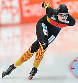 Subject: Jennifer Bay; Tags: Athlet, Athlete, Sportler, Wettkämpfer, Sportsman, Damen, Ladies, Frau, Mesdames, Female, Women, Eisschnelllauf, Speed skating, Schaatsen, GER, Germany, Deutschland, Jennifer Bay, Sport; PhotoID: 2014-03-08-0137