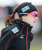 Subject: Denise Roth; Tags: Athlet, Athlete, Sportler, Wettkämpfer, Sportsman, Damen, Ladies, Frau, Mesdames, Female, Women, Denise Roth, Eisschnelllauf, Speed skating, Schaatsen, GER, Germany, Deutschland, Sport; PhotoID: 2014-03-08-0365