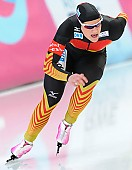 Subject: Jennifer Plate; Tags: Athlet, Athlete, Sportler, Wettkämpfer, Sportsman, Damen, Ladies, Frau, Mesdames, Female, Women, Eisschnelllauf, Speed skating, Schaatsen, GER, Germany, Deutschland, Jennifer Plate, Sport; PhotoID: 2014-03-08-0385