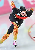 Subject: Jennifer Plate; Tags: Athlet, Athlete, Sportler, Wettkämpfer, Sportsman, Damen, Ladies, Frau, Mesdames, Female, Women, Eisschnelllauf, Speed skating, Schaatsen, GER, Germany, Deutschland, Jennifer Plate, Sport; PhotoID: 2014-03-08-0386