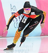 Subject: Denise Roth; Tags: Athlet, Athlete, Sportler, Wettkämpfer, Sportsman, Damen, Ladies, Frau, Mesdames, Female, Women, Denise Roth, Eisschnelllauf, Speed skating, Schaatsen, GER, Germany, Deutschland, Sport; PhotoID: 2014-03-08-0393