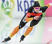 Subject: Denise Roth; Tags: Athlet, Athlete, Sportler, Wettkämpfer, Sportsman, Damen, Ladies, Frau, Mesdames, Female, Women, Denise Roth, Eisschnelllauf, Speed skating, Schaatsen, GER, Germany, Deutschland, Sport; PhotoID: 2014-03-08-0396
