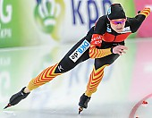 Subject: Denise Roth; Tags: Athlet, Athlete, Sportler, Wettkämpfer, Sportsman, Damen, Ladies, Frau, Mesdames, Female, Women, Denise Roth, Eisschnelllauf, Speed skating, Schaatsen, GER, Germany, Deutschland, Sport; PhotoID: 2014-03-08-0397