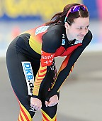 Subject: Denise Roth; Tags: Athlet, Athlete, Sportler, Wettkämpfer, Sportsman, Damen, Ladies, Frau, Mesdames, Female, Women, Denise Roth, Eisschnelllauf, Speed skating, Schaatsen, GER, Germany, Deutschland, Sport; PhotoID: 2014-03-08-0401