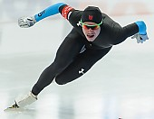 Subject: Tucker Fredricks; Tags: Athlet, Athlete, Sportler, Wettkämpfer, Sportsman, Eisschnelllauf, Speed skating, Schaatsen, Herren, Men, Gentlemen, Mann, Männer, Gents, Sirs, Mister, Sport, Tucker Fredricks, USA, United States, Vereinigte Staaten von Amerika; PhotoID: 2014-03-08-0554
