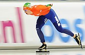 Subject: Ireen Wüst; Tags: Athlet, Athlete, Sportler, Wettkämpfer, Sportsman, Damen, Ladies, Frau, Mesdames, Female, Women, Eisschnelllauf, Speed skating, Schaatsen, Ireen Wüst, NED, Netherlands, Niederlande, Holland, Dutch, Sport; PhotoID: 2014-03-08-0650