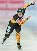 Subject: Monique Angermüller; Tags: Athlet, Athlete, Sportler, Wettkämpfer, Sportsman, Damen, Ladies, Frau, Mesdames, Female, Women, Eisschnelllauf, Speed skating, Schaatsen, GER, Germany, Deutschland, Monique Angermüller, Sport; PhotoID: 2014-03-09-0385
