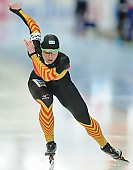 Subject: Monique Angermüller; Tags: Athlet, Athlete, Sportler, Wettkämpfer, Sportsman, Damen, Ladies, Frau, Mesdames, Female, Women, Eisschnelllauf, Speed skating, Schaatsen, GER, Germany, Deutschland, Monique Angermüller, Sport; PhotoID: 2014-03-09-0388