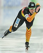 Subject: Monique Angermüller; Tags: Athlet, Athlete, Sportler, Wettkämpfer, Sportsman, Damen, Ladies, Frau, Mesdames, Female, Women, Eisschnelllauf, Speed skating, Schaatsen, GER, Germany, Deutschland, Monique Angermüller, Sport; PhotoID: 2014-03-09-0389